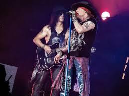 Guns N Roses singer and guitar player