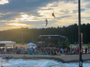 river jam at the whitewater center in charlotte nc on 7-18-19