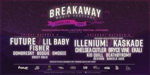 Breakaway Music Festival 2019 lineup in Charlotte, NC