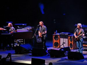 Phish band performing live on stage