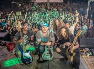 Sun-Dried Vibes, reggae/rock band at a live concert in Charlotte